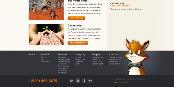 Tucson Web Design, SEO Internet Marketing, and Brand Identity Services by Foxtie_1294695133258
