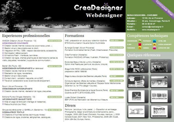cv pdf original