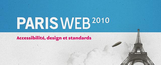 paris web 2010, conférences typographie macrotypographie et mise en page