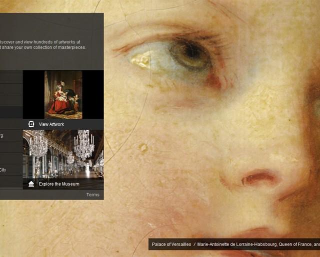 Google art project versaille musée
