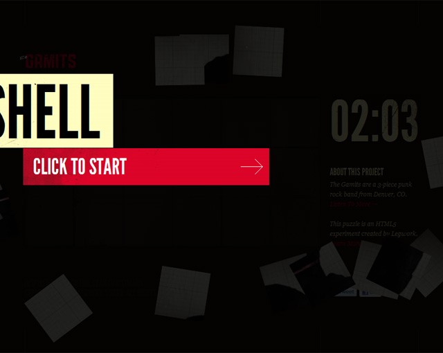 This shell, gamits, concept puzzle video html5