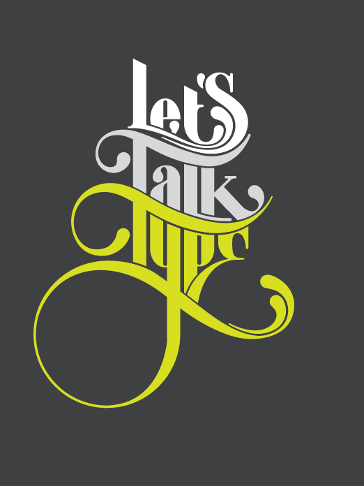 Nick Keppol Typographie Let's talk type