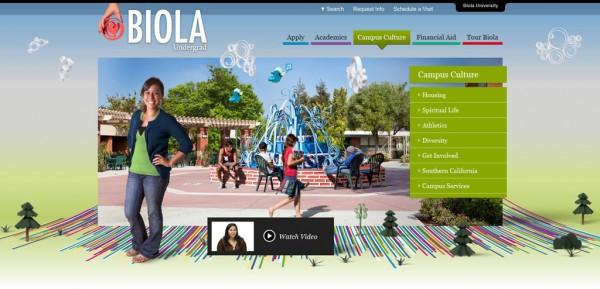 Inspiration web #1 : www.undergrad.biola.edu