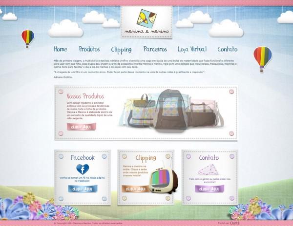 Inspiration web #1 : www.meninamenino.com