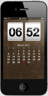 Lockscreen HTC pour Iphone, Ipod Touch