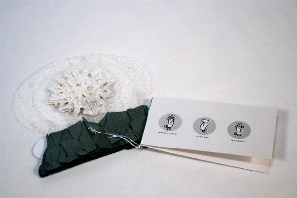 Carte 3D, Boule de neige