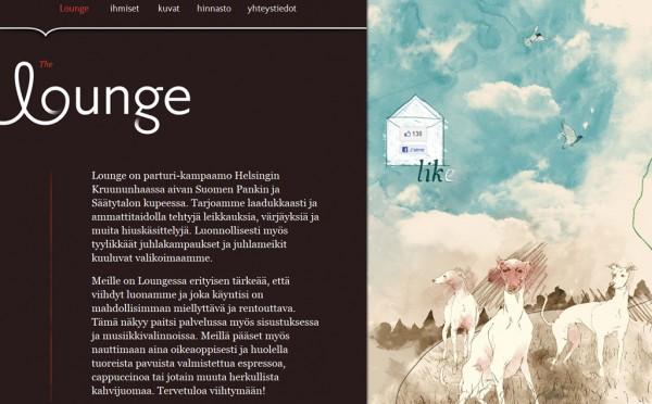 Deliweek, site web de la semaine : Lounge