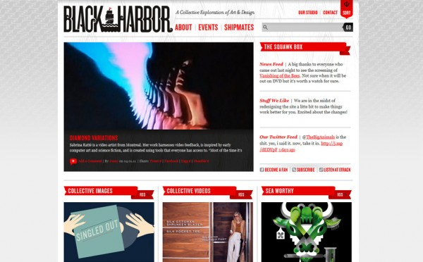 Design site : Black harbor, Deliweek #3