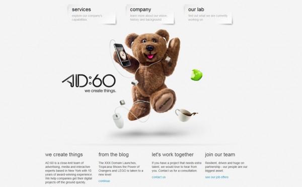 Design site : AD60, Deliweek #3