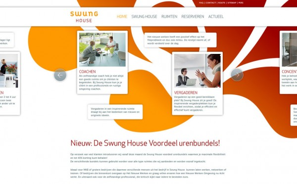 Design site : Swung House, Deliweek #3