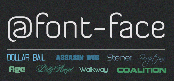 Outil CSS : font-face