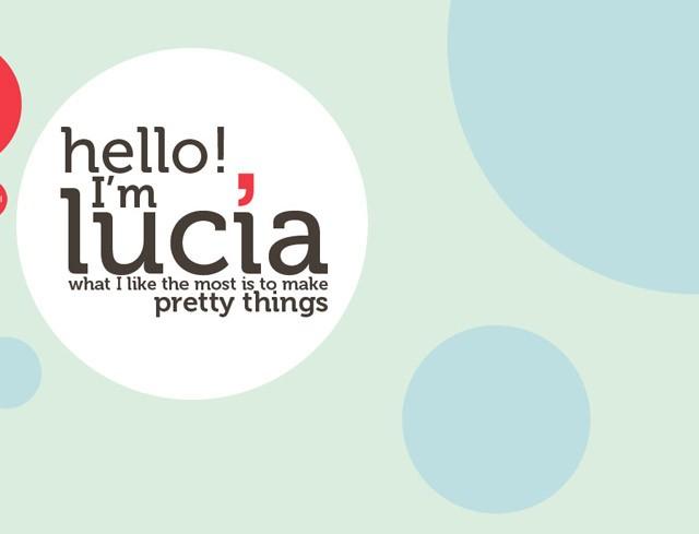 Lucia Soto, exemple de site : navigation horizontale / Design