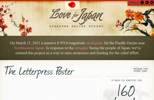 Site web inspiration : Mr lOVE FOR JAPAN
