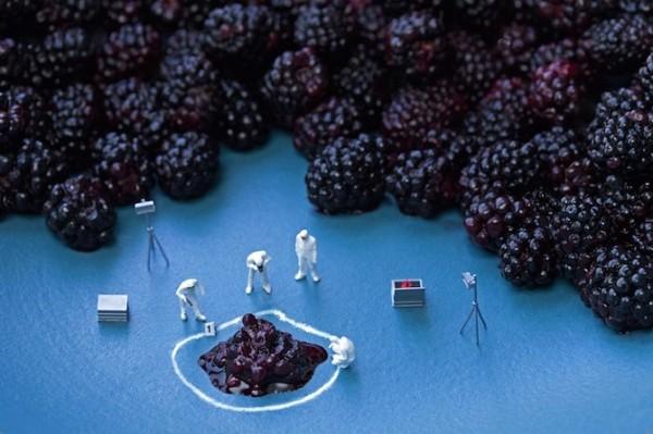 Photographie Big Appetites par Christopher Boffoli