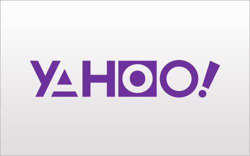 Logo Yahoo campagne de com